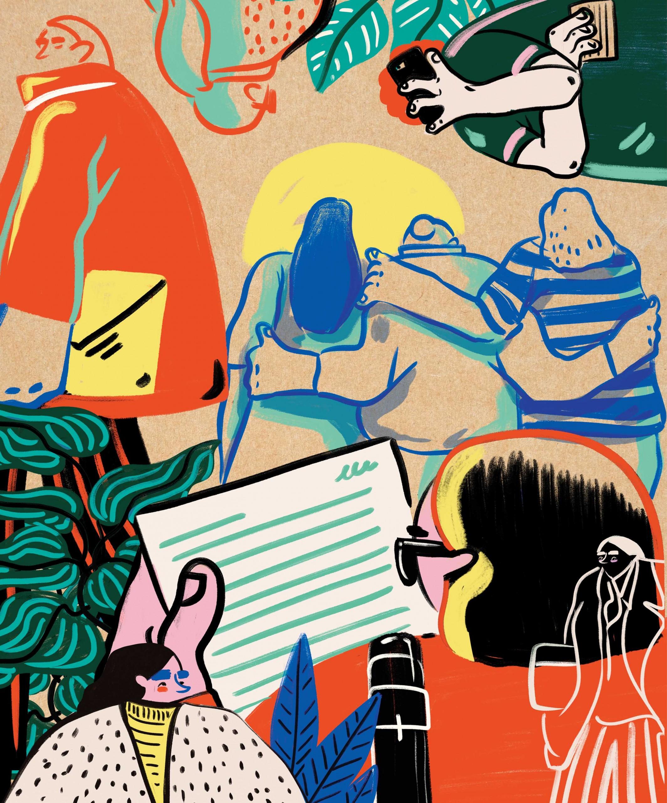 Mentor Illustration